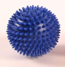 piłka rehabilitacyjna z kolcami (jeżyk) - 10 cm