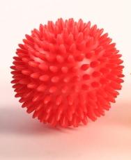 piłka rehabilitacyjna z kolcami (jeżyk) - 9 cm